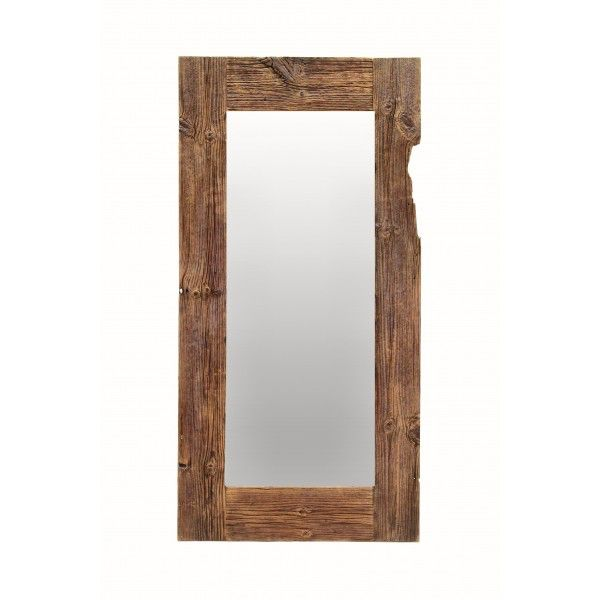Antique mirror   is made of recycled, over hundred-year-old pine wood #mirror #pinewood #old #oldwood #wood #solidwood