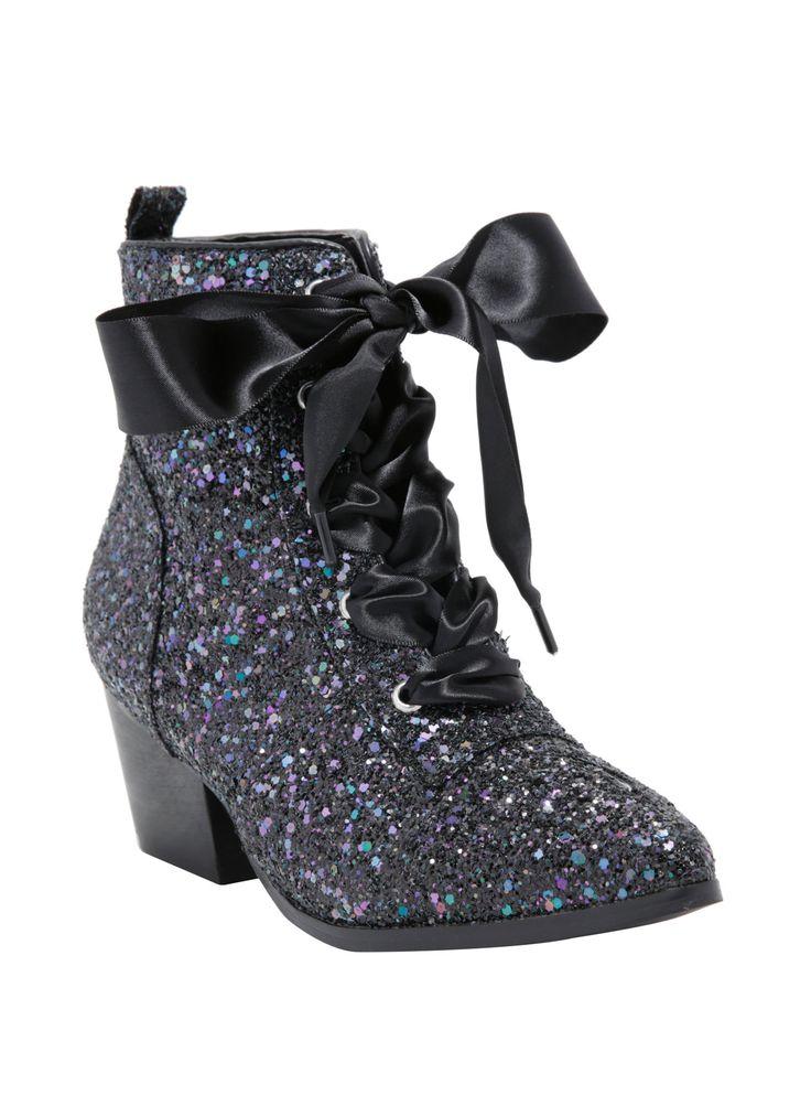 Oooooh...sparkly! //  Y.R.U. Aurora Glitter Boots