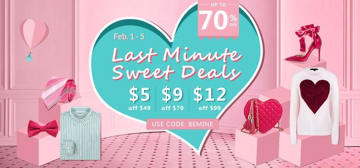 rosegal-Valentine Day Flash Sale