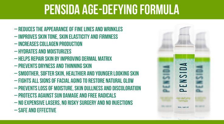 Pensida AgeDefying Formula Review AntiAging Solution for Wrinkles
