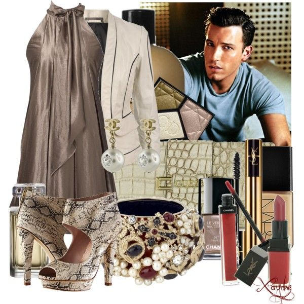 """25/50 Celebrity Dates Challenge - Ben Affleck"" by miruna09xayde on Polyvore"