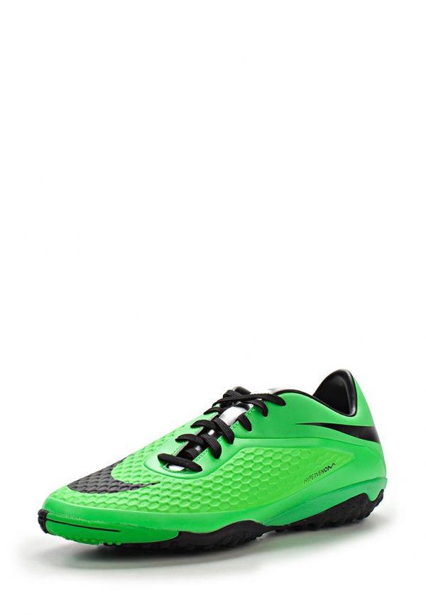 Шиповки Nike / Найк Цвет: зеленый. Материал: искусственная кожа. Сезон: Весна-лето 2014. С бесплатной доставкой и примеркой на Lamoda. http://j.mp/1uKn1su