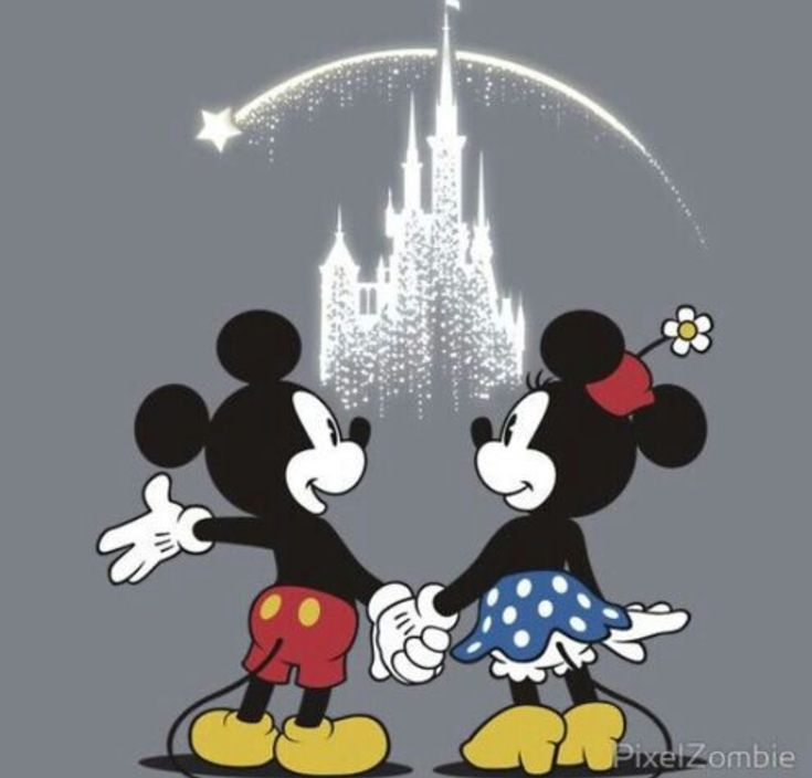 Mickey and Minnie forever!