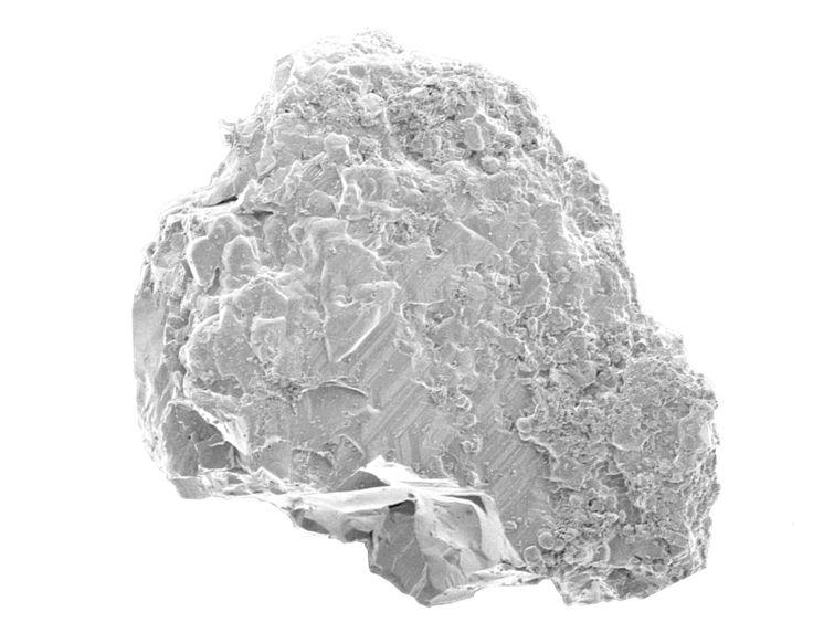 「はやぶさ」が小惑星イトカワから回収した微粒子の一つ