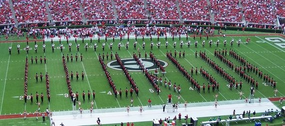 Ain't nothing finer in the land than the Dixie Redcoat Marching