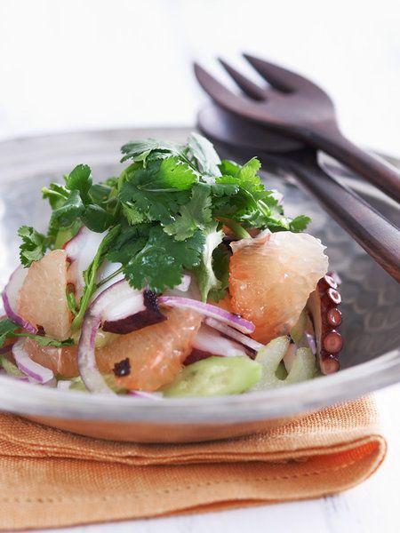 Recipe:たこのお手軽アジアンサラダ #レシピ