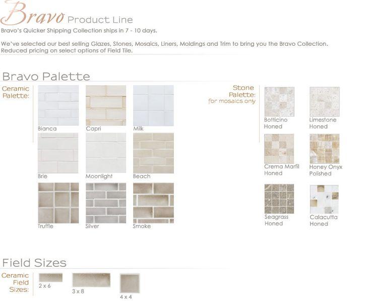 Bravo Product Line | Encore Ceramics - back splash tile ...