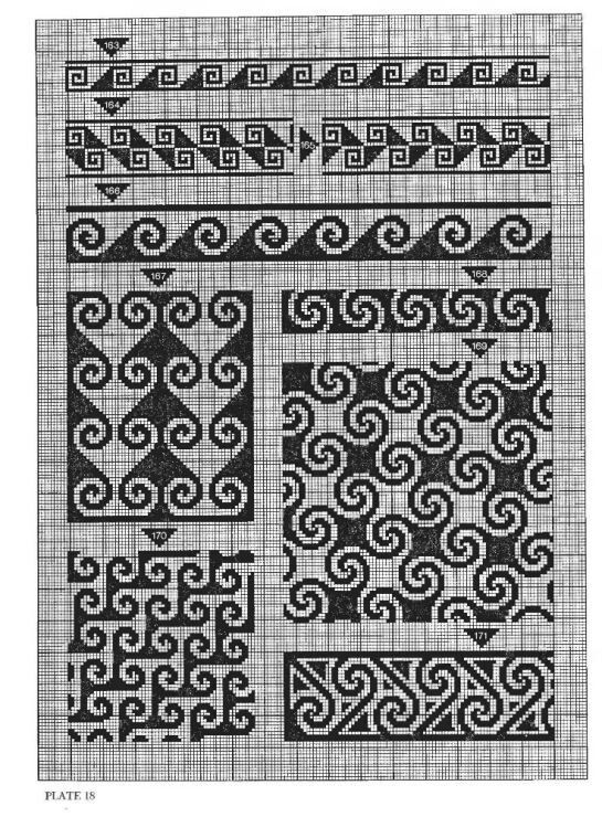 Charted designs, good for tapestry crochet