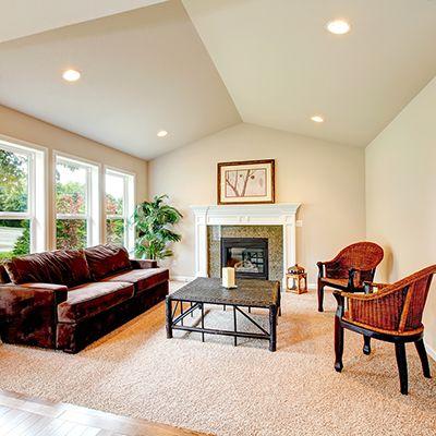 Recessed lighting on vaulted ceilings or sloped ceilings ...