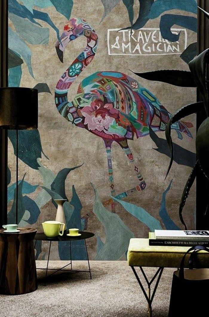 25 best ideas about papier peint 3d on pinterest pvc mural photo personnalis and papier. Black Bedroom Furniture Sets. Home Design Ideas
