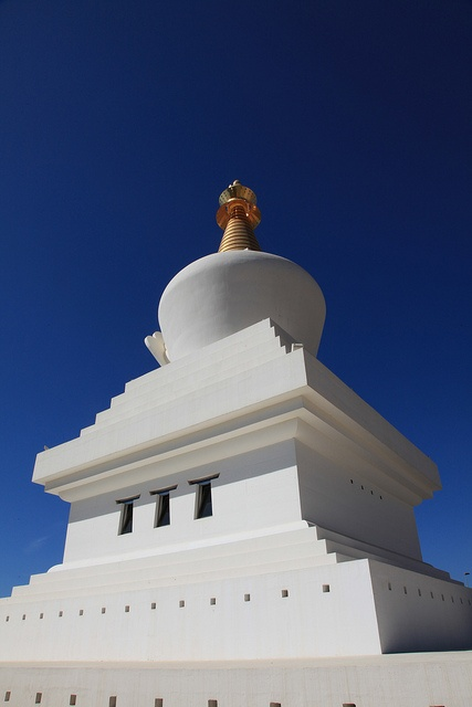 Buddhist Temple above Benalmadena, Spain
