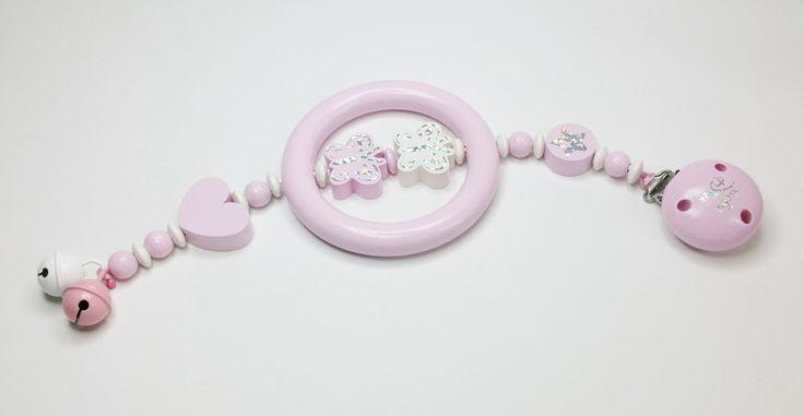 Baby-Safe-Kette Kinderwagenkette Kleine Diva SB123 von myduttel auf DaWanda.com