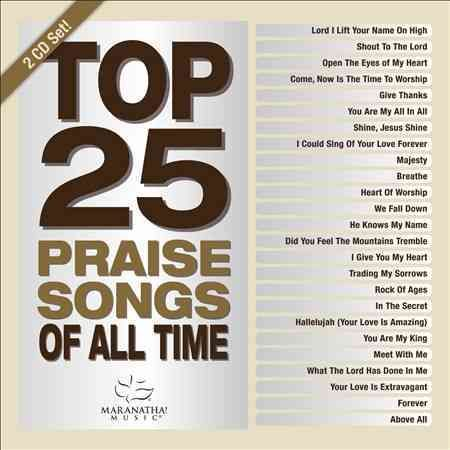 Disc 1: DISC 1: Lord, I Lift Your Name on High Shout to the Lord Open the Eyes of My Heart Come, Now Is the Time to Worship Heart of Worship, The Above All Breathe Forever You Are My King Give Thanks