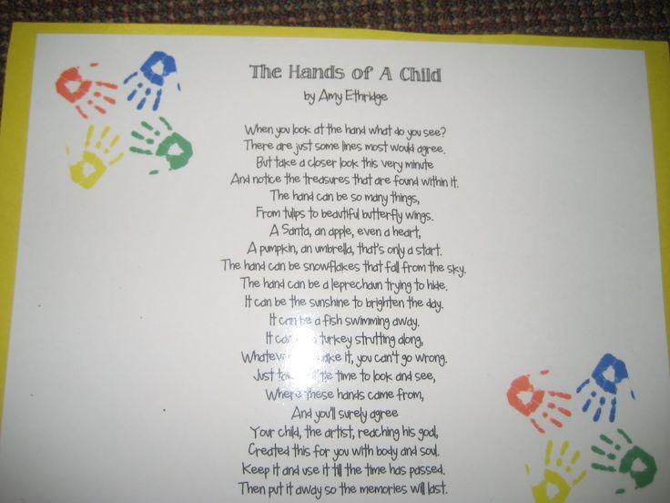 Calendar Poems For Kindergarten : Best pre k handprint calendar images on pinterest
