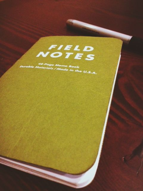We absolutely love Field Notes and use them religiously!