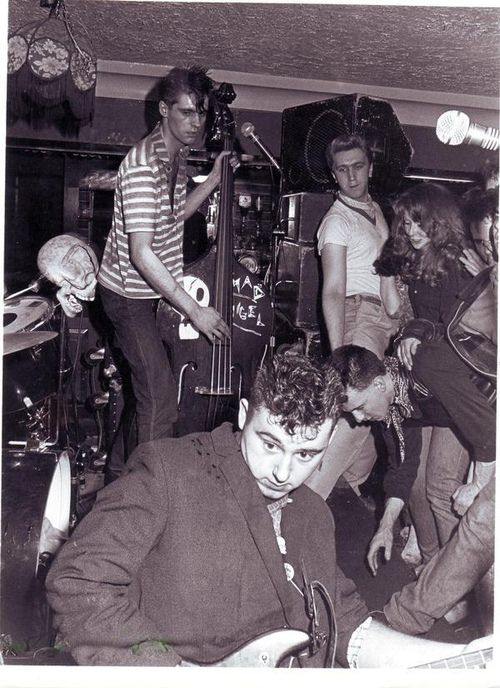 The Meteors - Psychobilly - 1981. (by MICKSIDGE)