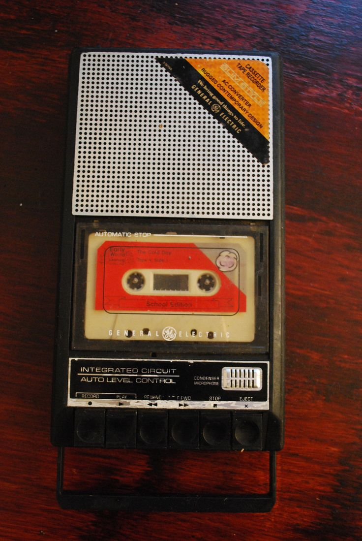 Retro CASSETTE TAPE RECORDER Got one for Christmas and interviewed everyone at the family get together!