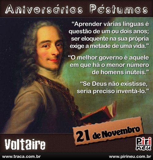 Voltaire || #voltaire #aniversário #citação #citações #frase #frases #postumo