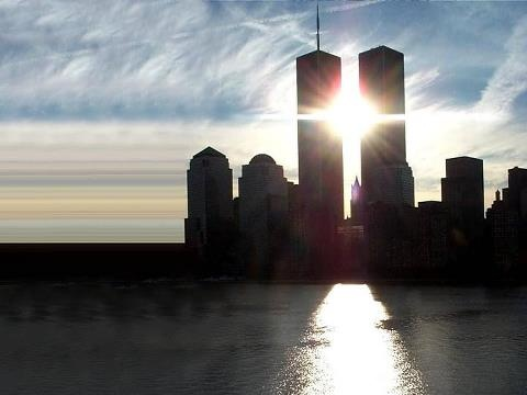 Incredible image of the Twin Towers and their beauty
