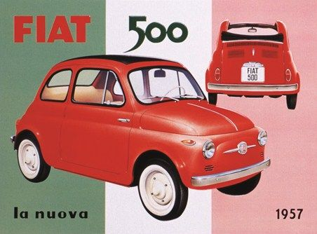@Fiat_UK The coolest little car ever made - and a style icon still seen on the streets of #Italy.