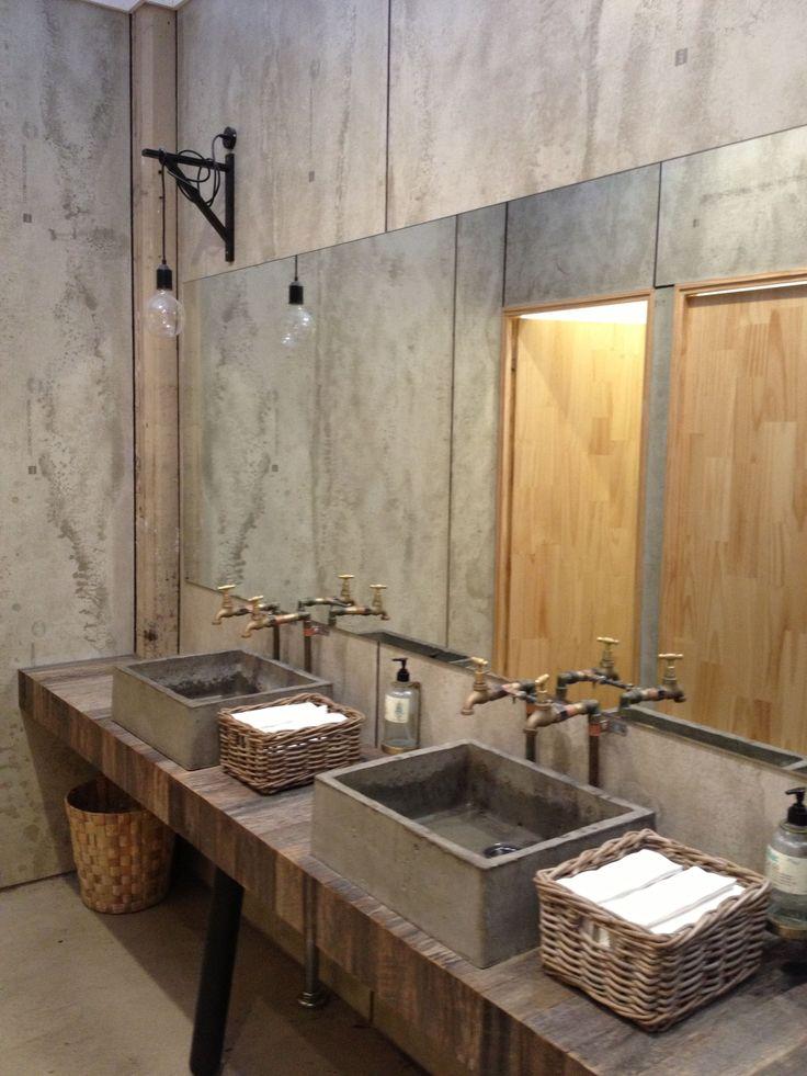 2493 Best Vintage Industrial Decor Bathroom Images On Pinterest Bathroom Bathrooms And