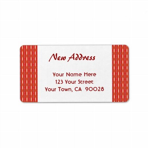 Attractive 16 best We'Ve Moved Address Labels images on Pinterest | Lyrics  PN51