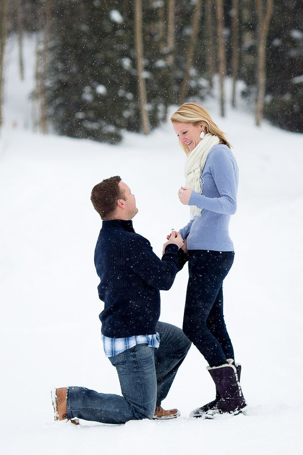 Breckenridge Colorado Winter Proposal perfect time to do it winters the best
