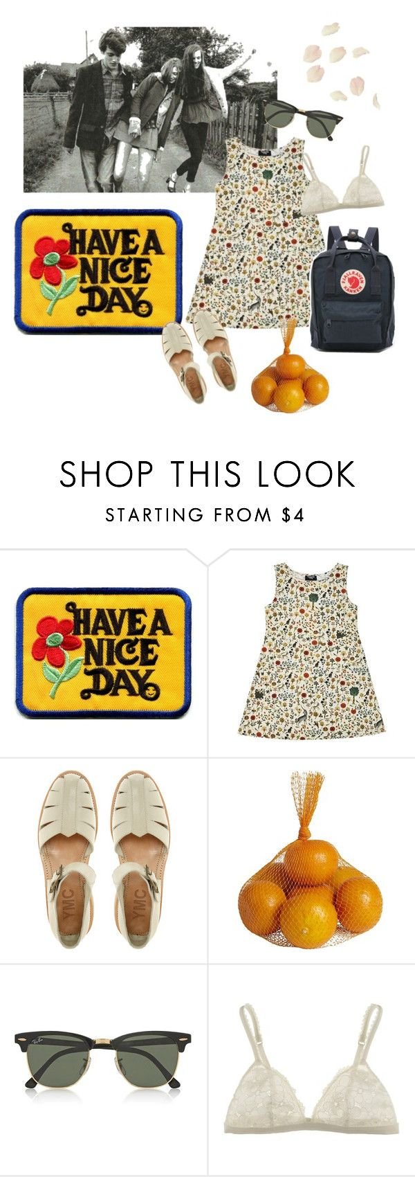 """""""bigmouth strikes again"""" by sbolger ❤ liked on Polyvore featuring Samantha Pleet, YMC, Pier 1 Imports, Ray-Ban, La Perla and Fjällräven"""