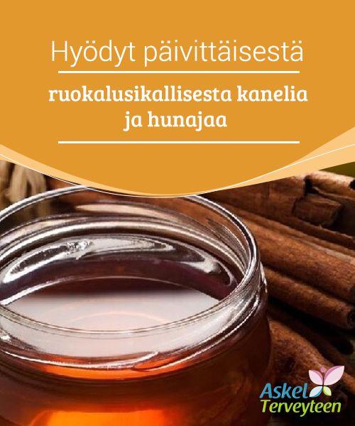 Hyödyt päivittäisestä ruokalusikallisesta kanelia ja hunajaa  Kaneli ja hunaja ovat kaksi #ravinteikasta ruokaa, joissa on monia #terveellisiä ominaisuuksia ja ainesosia sekä #herkullinen maku.  #Luontaishoidot