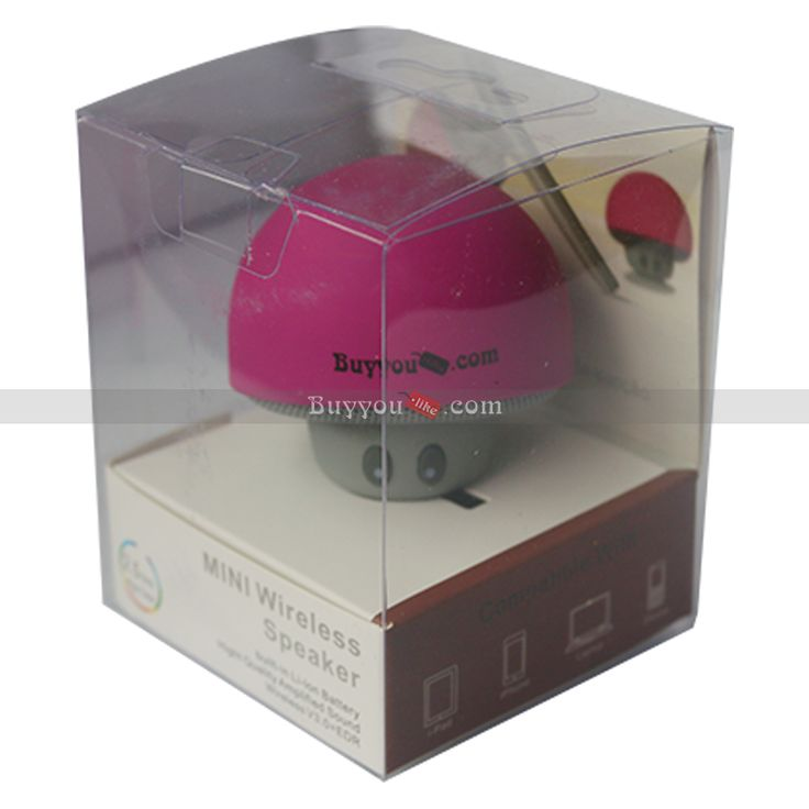 Buyyoulike DIY Mushroom Bluetooth Small Speaker