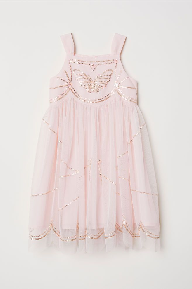 b9ff18218 Sequined Tulle Dress | Little Baby | Tulle dress, Dresses, Sequins
