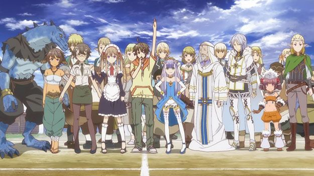 Outbreak Company. I can't even be mad at all the tropes they used, because it was only to poke fun at them. Plus, all the references, and it was just such a fun show all around.