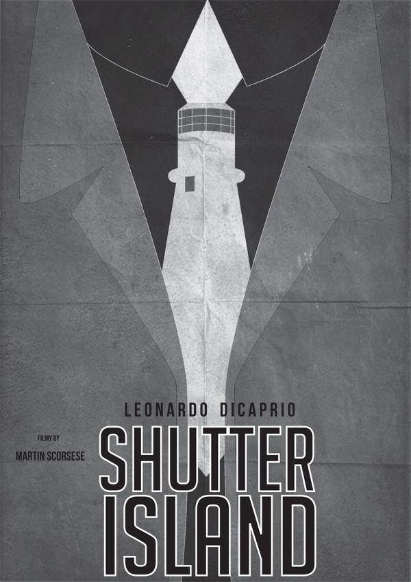 Shutter Island (2010) ~ Minimal Movie Poster by Pgsqueallove Street  #amusementphile
