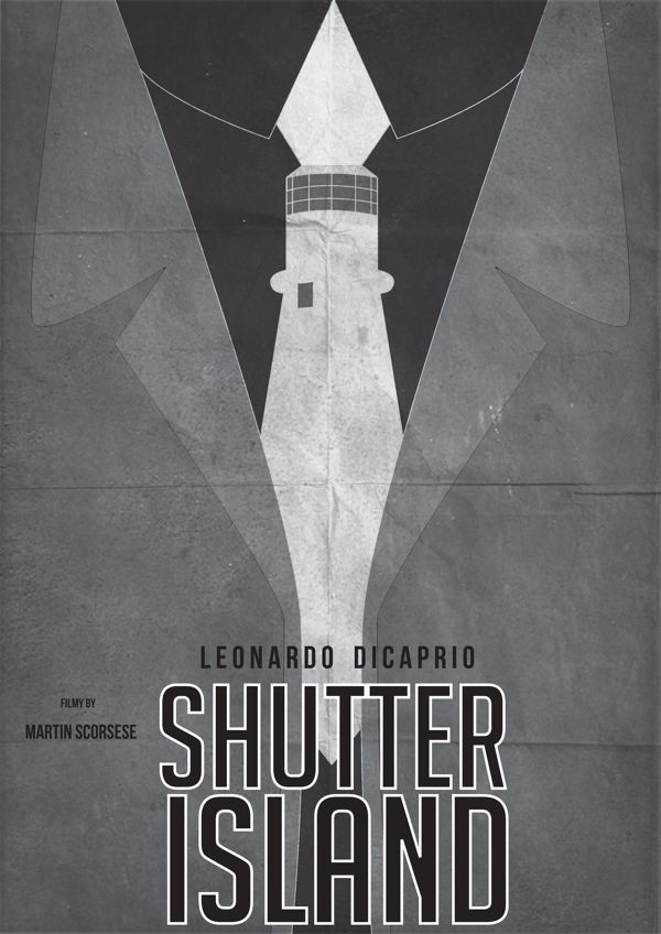 Shutter Island (2010) ~ Minimal Movie Poster by Pgsqueallove Street  #amusementphile