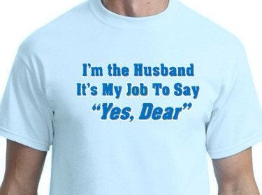Funny Couples Tee, Husband & Wife Humor by DarylArtDigital on Etsy
