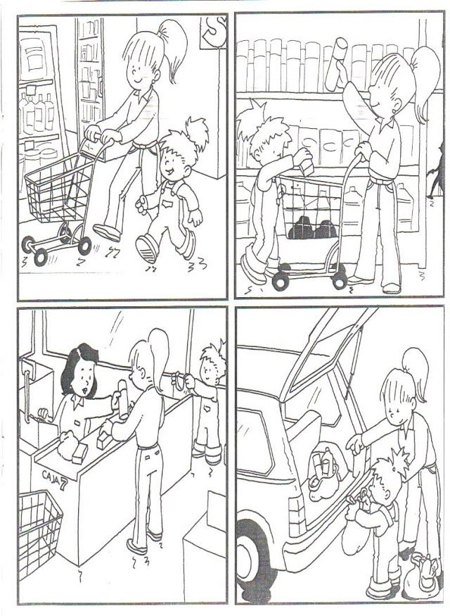 Ảnh: en el supermercado