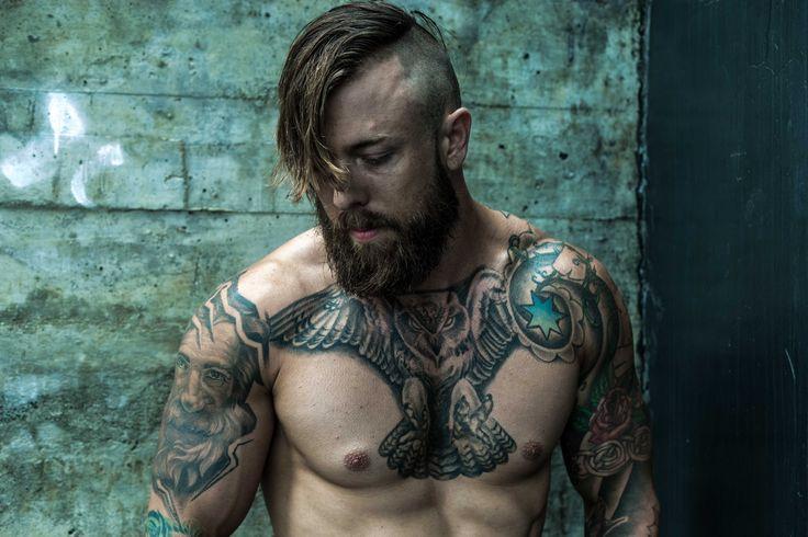 #beard #tattoo #urban #fashion