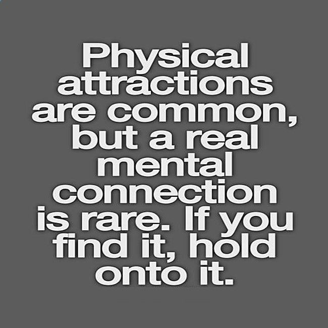Mental connection is rare - hold onto it www.evematch.com/ #Lesbian #Gay #LGBT #Positivity #Love #Quote