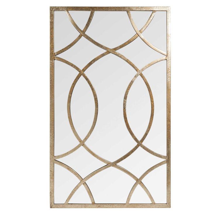 Miroir en métal H 100 cm OLNEY