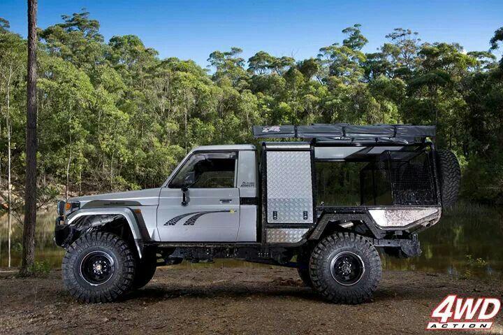 #toyota #hzj #greatpreparation #heavyduty #gorgeous #pickup #australian4wd