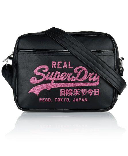 Superdry Glitter Mini Alumni Bag