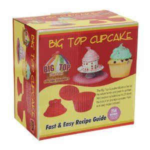 3 Pcs Big Top Cupcake Pan Giant Silicone Molds Baking Set: Amazon.ca: Home & Kitchen