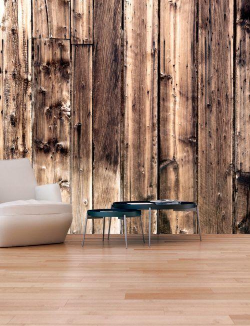 Oltre 25 fantastiche idee su carta da parati in legno su for Carta parati effetto legno