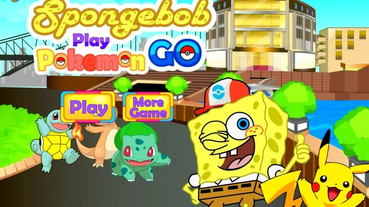 Top Pokemon Games Spongebob Play Pokemon Go