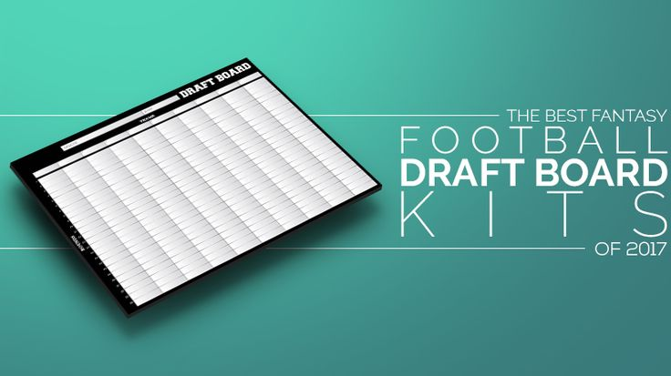 I reviewed the best fantasy football draft boards on the market.  It includes single-year draft boards, reusable draft boards (with cost-savings analysis), and IDP accessories.