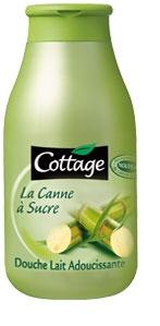 Cottage, Gel douche cannes à sucre