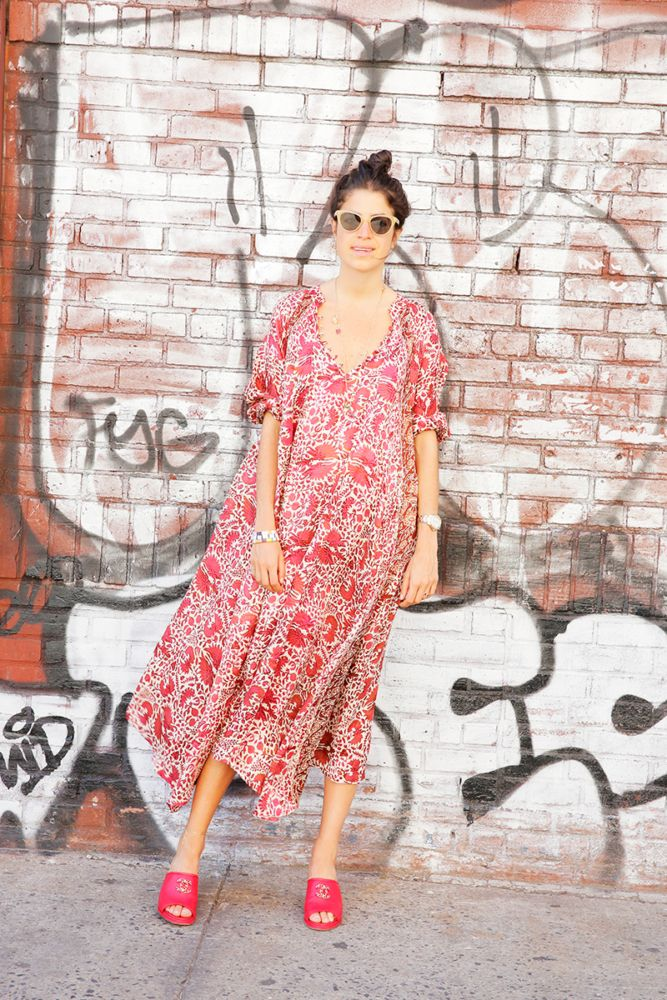 Summer dress into fall 6 times