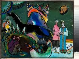 """Résultat de recherche d'images pour """"peinture sur verre kandinsky"""""""