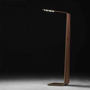 LED 2 standing lamp (choice of materials). Designed by Tunto. Available on http://www.darwinshome.com/en/lighting/757-led-2-light-choice-of-materials.html