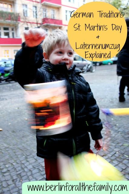 An English explanation of St. Martin's day and how it is celebrated in Germany. Along with a DIY tutorial for making your own paper lantern. From www.berlinforallthefamily.com